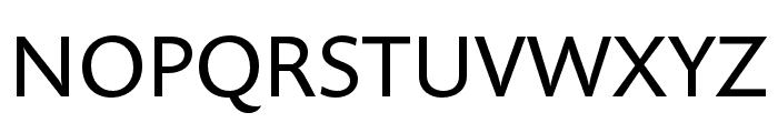 Prenton RP Ultra Cond Regular Font UPPERCASE