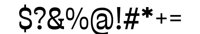 Presley Slab Light Italic Font OTHER CHARS