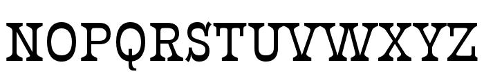 Presley Slab Thin Italic Font UPPERCASE