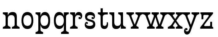 Presley Slab Thin Italic Font LOWERCASE
