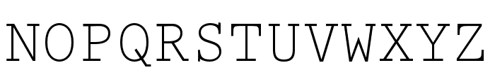 Prestige Elite Std Regular Font UPPERCASE