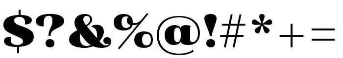 Primot Pro Font OTHER CHARS