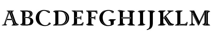 Priori Acute OT Serif Ornaments Font UPPERCASE
