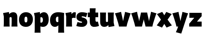 Productus Black Font LOWERCASE