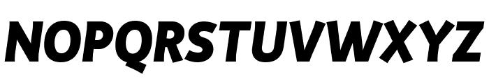 Productus Bold Italic Font UPPERCASE
