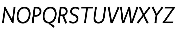 Productus Book Italic Font UPPERCASE