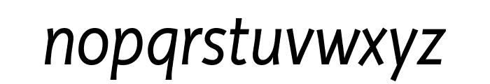 Productus Book Italic Font LOWERCASE