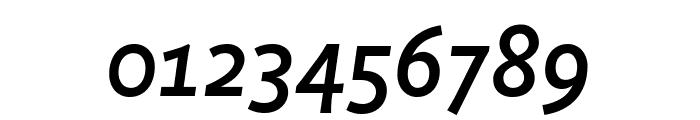 Productus Medium Italic Font OTHER CHARS