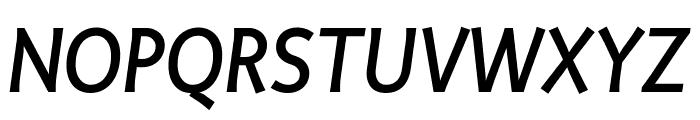 Productus Medium Italic Font UPPERCASE