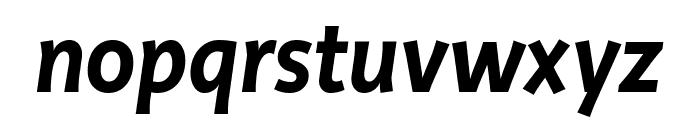 Productus Semi Bold Italic Font LOWERCASE