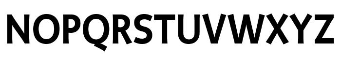 Productus Semi Bold Font UPPERCASE