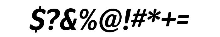 Program Nar OT Medium Italic Font OTHER CHARS