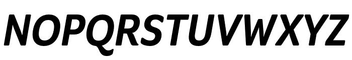 Program Nar OT Medium Italic Font UPPERCASE