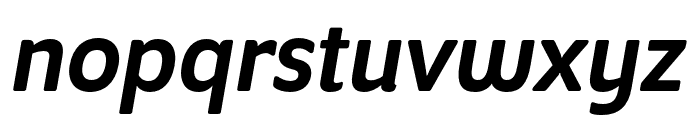 Program Nar OT Medium Italic Font LOWERCASE