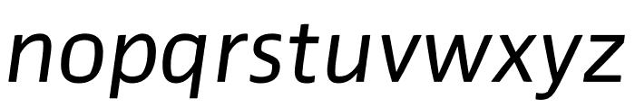 Prosaic Std Italic Font LOWERCASE