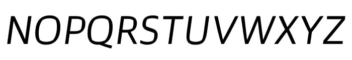 Prosaic Std Light Italic Font UPPERCASE