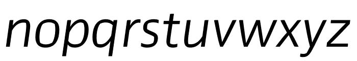 Prosaic Std Light Italic Font LOWERCASE
