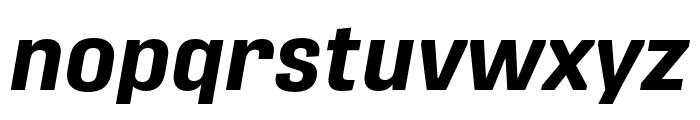 Protipo Bold Italic Font LOWERCASE