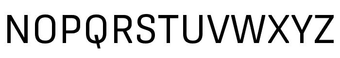 Protipo Compact Regular Font UPPERCASE