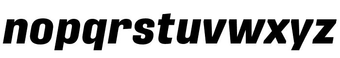 Protipo Extrabold Italic Font LOWERCASE