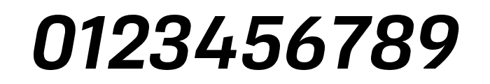 Protipo Narrow Medium Italic Font OTHER CHARS