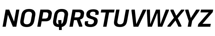 Protipo Narrow Semibold Italic Font UPPERCASE