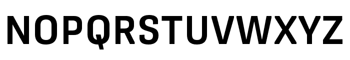Protipo Narrow Semibold Font UPPERCASE