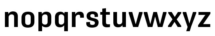 Protipo Narrow Semibold Font LOWERCASE