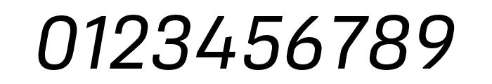 Protipo Regular Italic Font OTHER CHARS