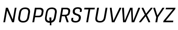 Protipo Regular Italic Font UPPERCASE