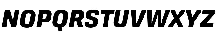 Protipo Wide Extrabold Italic Font UPPERCASE