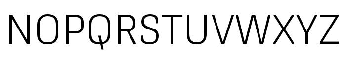 Protipo Wide Light Italic Font UPPERCASE