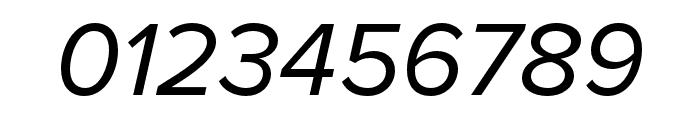 Proxima Nova Condensed Italic Font OTHER CHARS