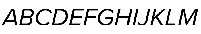 Proxima Nova Condensed Italic Font UPPERCASE