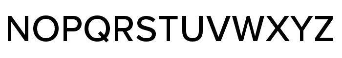 Proxima Nova Condensed Medium Font UPPERCASE