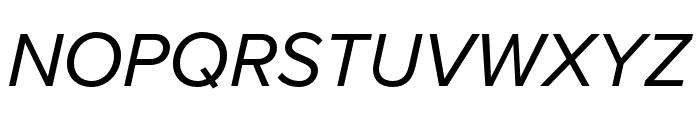 Proxima Nova Extra Condensed Italic Font UPPERCASE