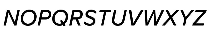 Proxima Nova Extra Condensed Medium Italic Font UPPERCASE