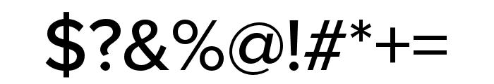 Proxima Nova Extra Condensed Medium Font OTHER CHARS