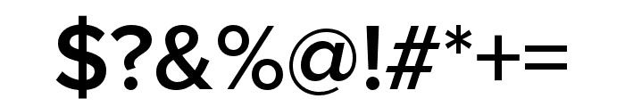 Proxima Nova Extra Condensed Semibold Font OTHER CHARS