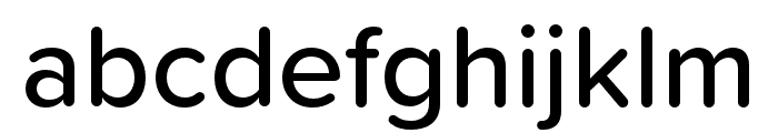 Proxima Soft Condensed Medium Font LOWERCASE