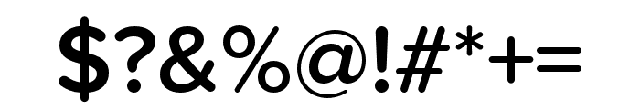 Proxima Soft Condensed Semibold Font OTHER CHARS