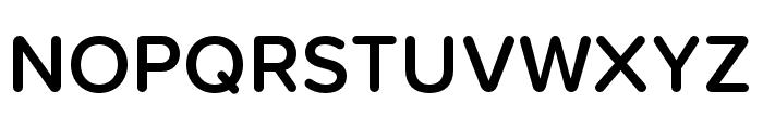 Proxima Soft Condensed Semibold Font UPPERCASE