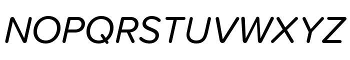Proxima Soft Extra Condensed Italic Font UPPERCASE