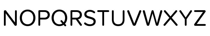 Proxima Soft Regular Font UPPERCASE