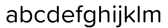 Proxima Soft Regular Font LOWERCASE