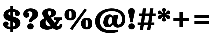 Pulpo Black Font OTHER CHARS
