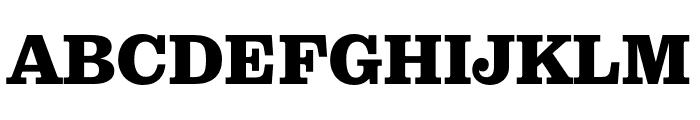 Pulpo Black Font UPPERCASE