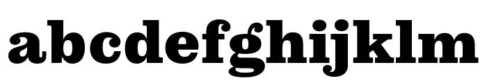 Pulpo Black Font LOWERCASE
