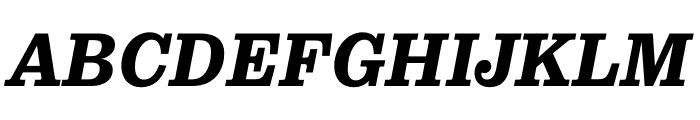 Pulpo Bold Italic Font UPPERCASE