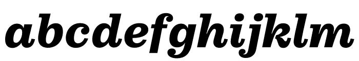 Pulpo Bold Italic Font LOWERCASE